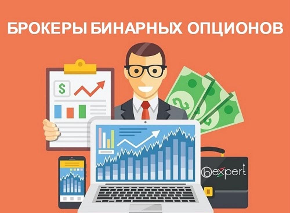 Список основных брокеров бинарных опционов России