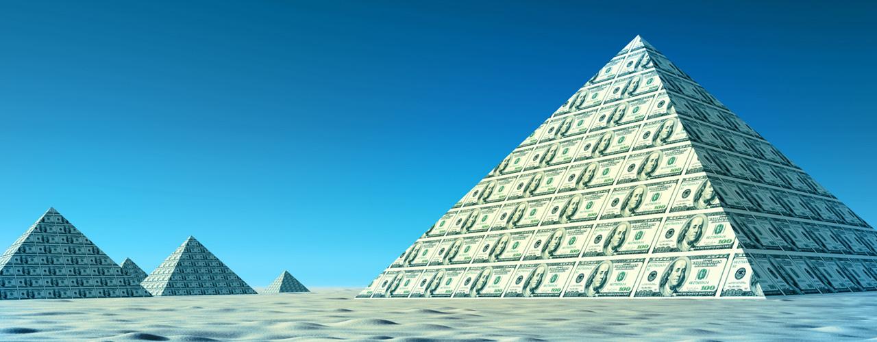Трендовые пирамиды на Форекс.