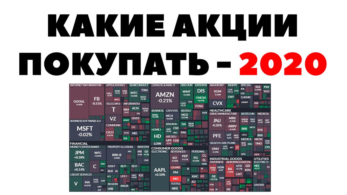 В какие акции вкладываться в 2020 году. Советы начинающему инвестору