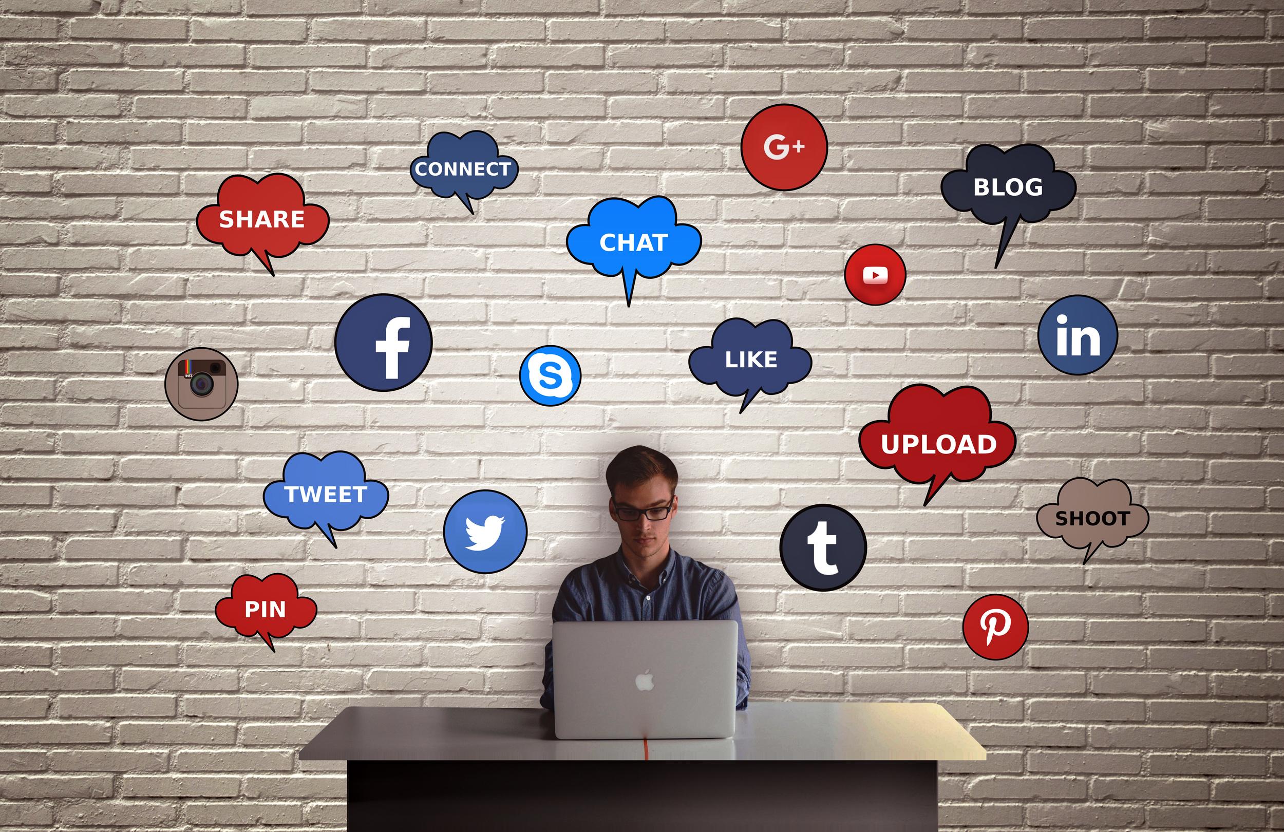 Контент-маркетинг, социальные сети