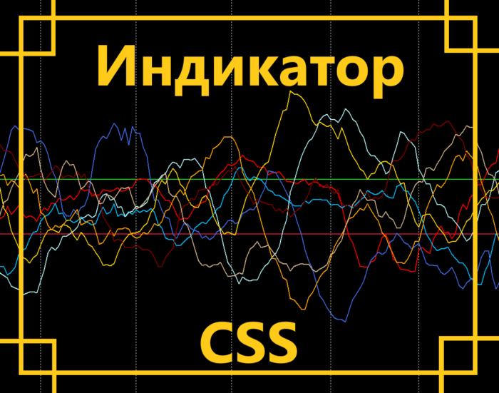 Индикатор CSS – удобный способ понять положение валюты