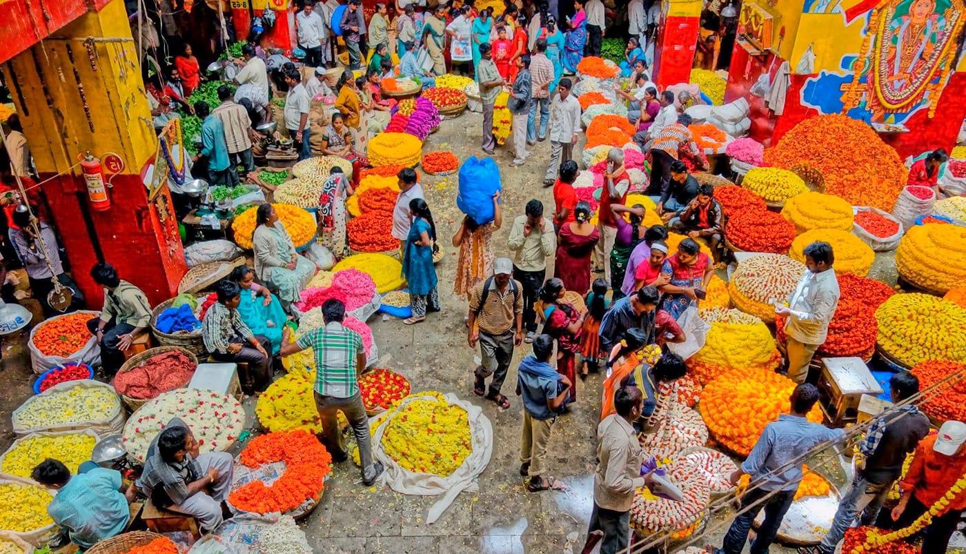 индийские рынки