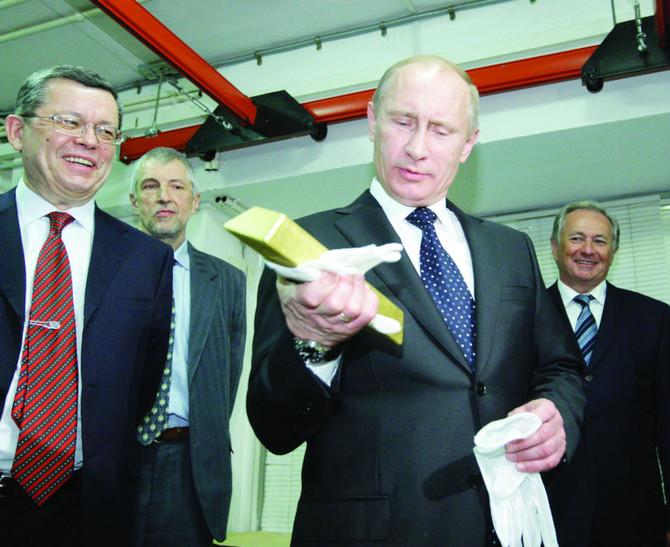 Путин и золото