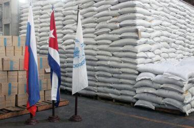 Россия отправила Кубе 253 тонны масла и 430 тонн пшеничной муки