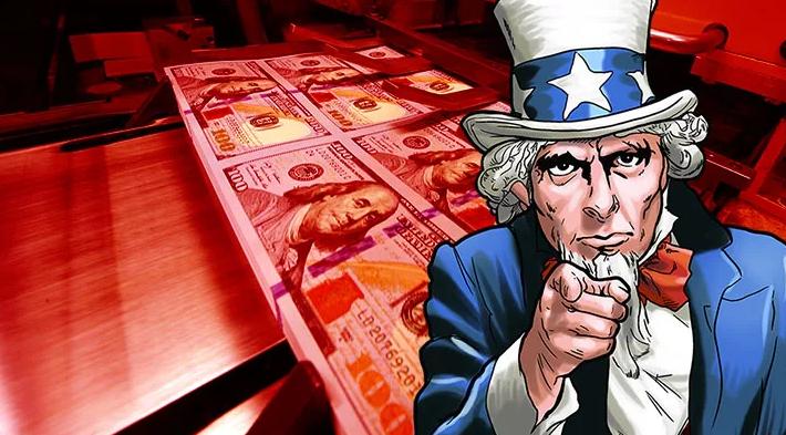 Куда идут раздаваемые американцам деньги