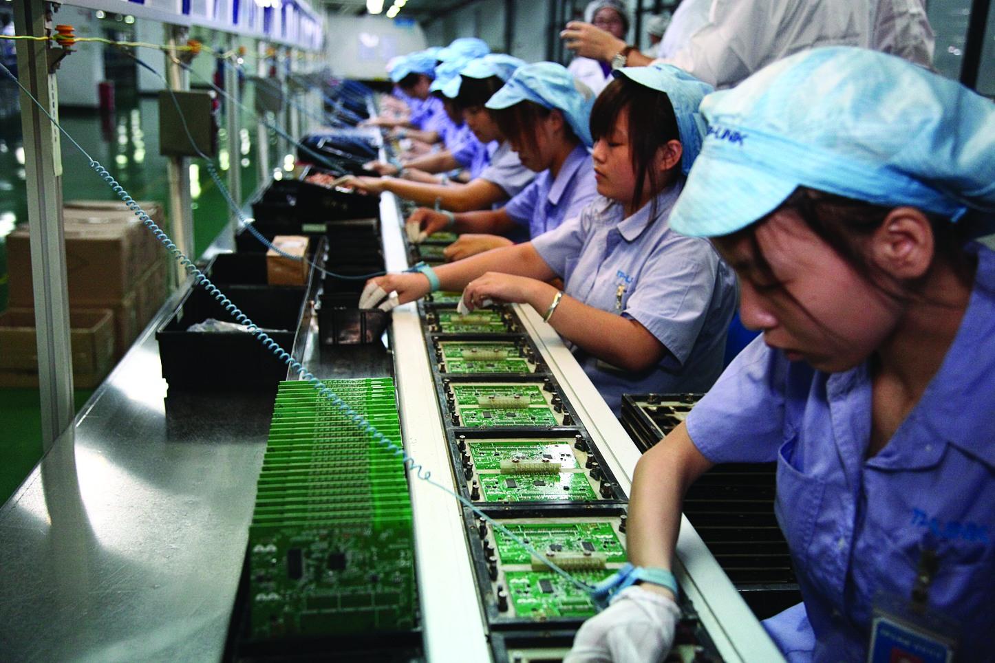 Годовой отчет об объеме промышленного производства Китая